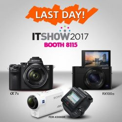 [Sony Singapore] Don't miss out on the last chance to enjoy cashback for Sony's award-winning digital imaging products.