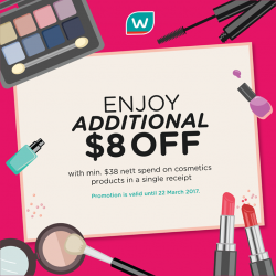[Watsons Singapore] Beauty must-haves up for grabs!