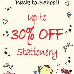 [Sanrio Gift Gate] Our Back to School Sale is back for the school holidays!
