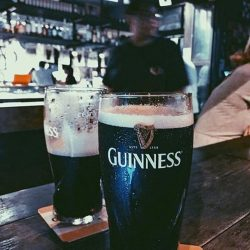 [Tuckshop] Great shot of Guinness from our customer @ludacus 😎👍🏼 hurry down to tuckshop to get your pint of Guinness for St