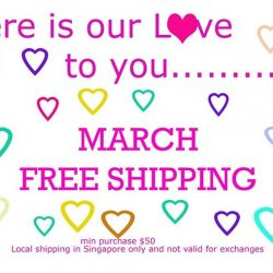 [JOY LUCK CLUB MATERNITY & BABY] Free Shipping* for the month of March.