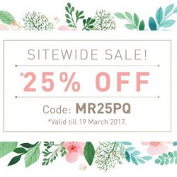 [KORRES] 25% off Sale on all items!