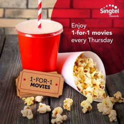[Cathay Cineplexes] Enjoy 1-for-1 movies every Thursday at The Cathay Cineplex (Handy Road).