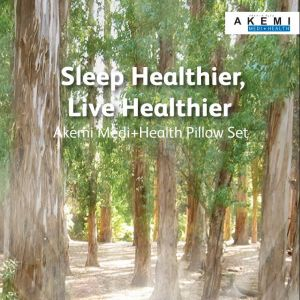 [AKEMI FACTORY] Save more by visiting ASTRO GO Shop website and grab two  AKEMI MEDI+HEALTH Pillows  at $65 an exclusive price.