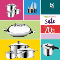 [WMF] Your favourite knives, pots, pans, cutlery and many, many more are now on sale!