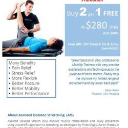 [Momentum] March STRETCH THERAPY PromotionBUY 2 GET 1 FREE + free gifts!