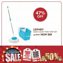 [Home-Fix Singapore] Mop quickly and easily!