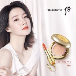 [The History of WHOO] Welcome weekends with confident make up looks like the ones worn by Lee Young-Ae!