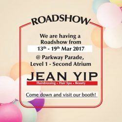 [Enjoy by Jean Yip] Will you be anywhere near or be at Parkway Parade tomorrow?