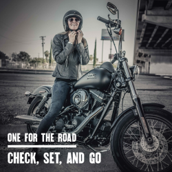 [Harley-Davidson] Never underestimate the importance of pre-ride checks and getting used to handling your bike.