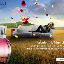 [Lampe Berger] FACEBOOK MONTH PROMOTION!