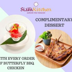 [Siam Kitchen] Who doesn't love free desserts?