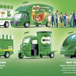 MILO: Collect All Limited Edition MILO Van Collectibles with Selected MILO Products at Leading Supermarkets!