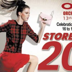 OG Singapore: OG Orchard Point 13th Birthday Celebration Storewide 20% OFF at All Stores!