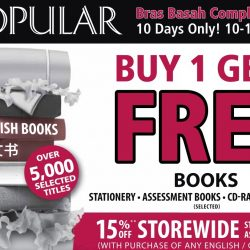 POPULAR: Buy 1 Get 1 FREE Books, Stationery, Assessment Books & More!