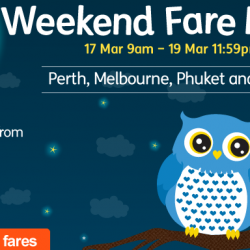 Jetstar: Irresistible Night Owls Weekend Fare Frenzy is Back! All-in Sale Fares from $35!