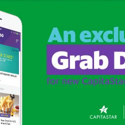 Grab: Claim a $10 GrabTaxi Promo Code with CapitaStar!
