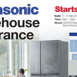 Courts Megastore: Panasonic Warehouse Clearance Up to 50% OFF Electronics & Home Appliances!