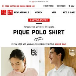 [UNIQLO Singapore] It's all about keeping you Dry & Comfy