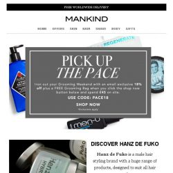 [Mankind] Pick up the pace