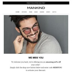 [Mankind] We miss you!