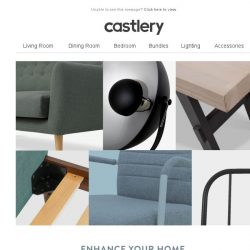 [Castlery] Decorative accents at a discount!