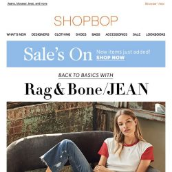 [Shopbop] Rag & Bone/JEAN nails simple style