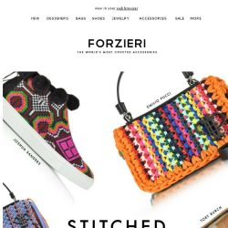 [Forzieri] Summer Chic Will Have You in Stitches