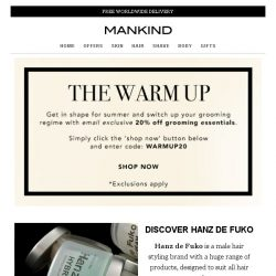 [Mankind] The Warm Up