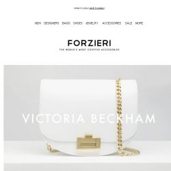 [Forzieri] New In: Obsessions by Victoria Beckham, Moschino and Sophie Hulme