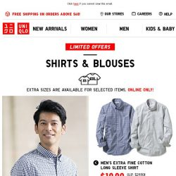 [UNIQLO Singapore] Easy to style, comfy to wear.