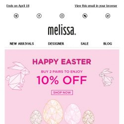 [Mdreams] Easter picks for you: Extra 10% off everything
