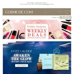 [COSME-DE.com] Selected Skincare Products Special Offers! Shop Now!