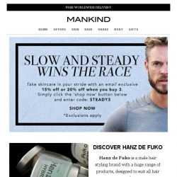 [Mankind] Slow and Steady