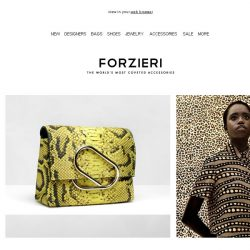 [Forzieri] Spotted: Show Your Wild Side