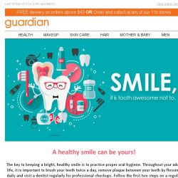 [Guardian] Tooth be told – We ❤ to smile bright!