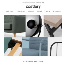 [Castlery] Decorate your home with discounted bestsellers