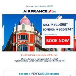 [AIRFRANCE] Easter Deals to Europe
