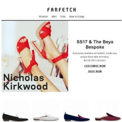 [Farfetch] Exclusive | Nicholas Kirkwood