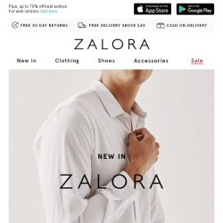 [Zalora] Discover the latest hits from ZALORA