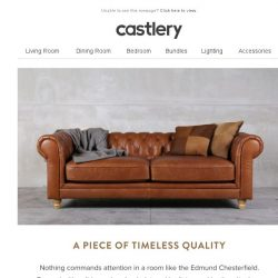 [Castlery] Lounge long weekends with Edmund Chesterfield