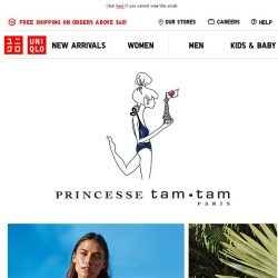 [UNIQLO Singapore] Get ready for Summer. A Swimwear collection.