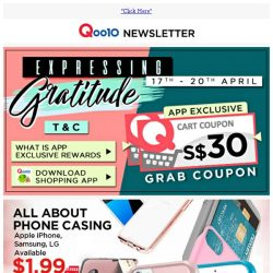 [Qoo10] Over 1,000 Items Sold - $1.99 Smart Phone Case... and More!!
