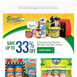 [Giant] Wait No More... These deals will be gone in two weeks!