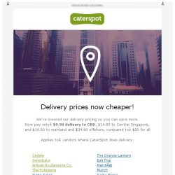 [CaterSpot] Cheaper delivery pricing now in Singapore, Yummy Korean Party Platters