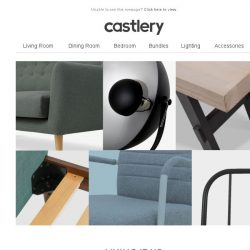 [Castlery] Living Room items our customers love
