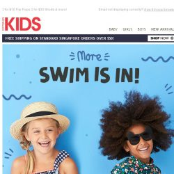 [Cotton On] Here comes the FUN ☀ All NEW Kids Swimwear is here