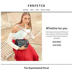 [Farfetch] #TheOne is waiting