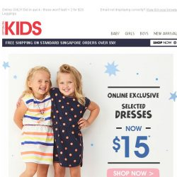 [Cotton On] DRESSES: $15, $20, $25 and $30