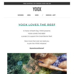 [Yoox] YOOXYGEN: YOOX supports the Great Barrier Reef